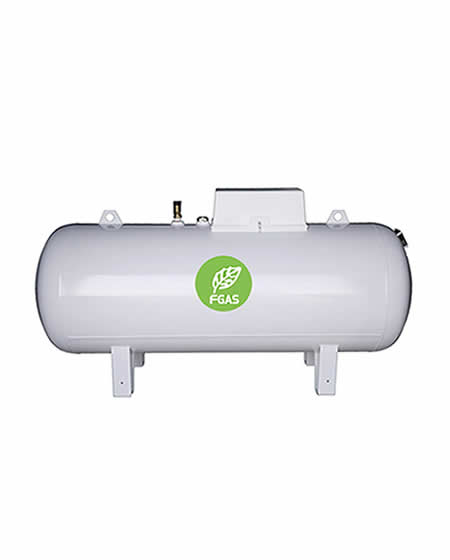 Υπέργεια δεξαμενή υγραερίου 10000L