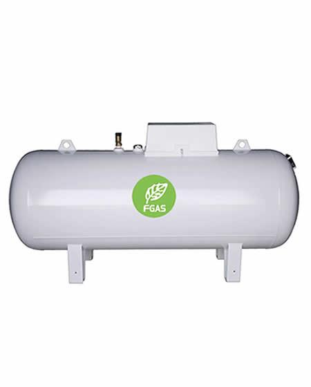 Υπέργεια δεξαμενή υγραερίου 18000L