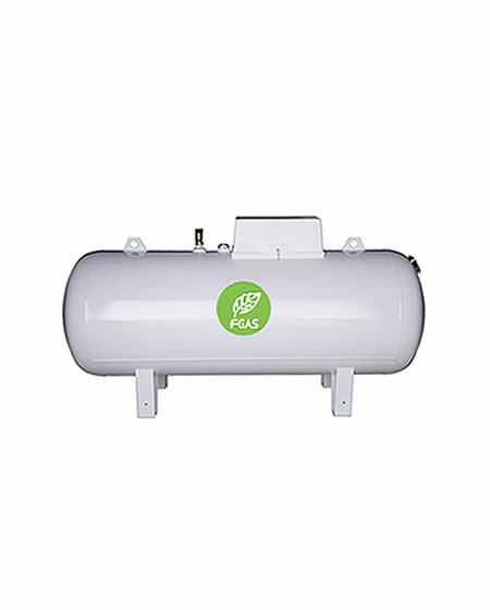 Υπέργεια δεξαμενή υγραερίου 3000L