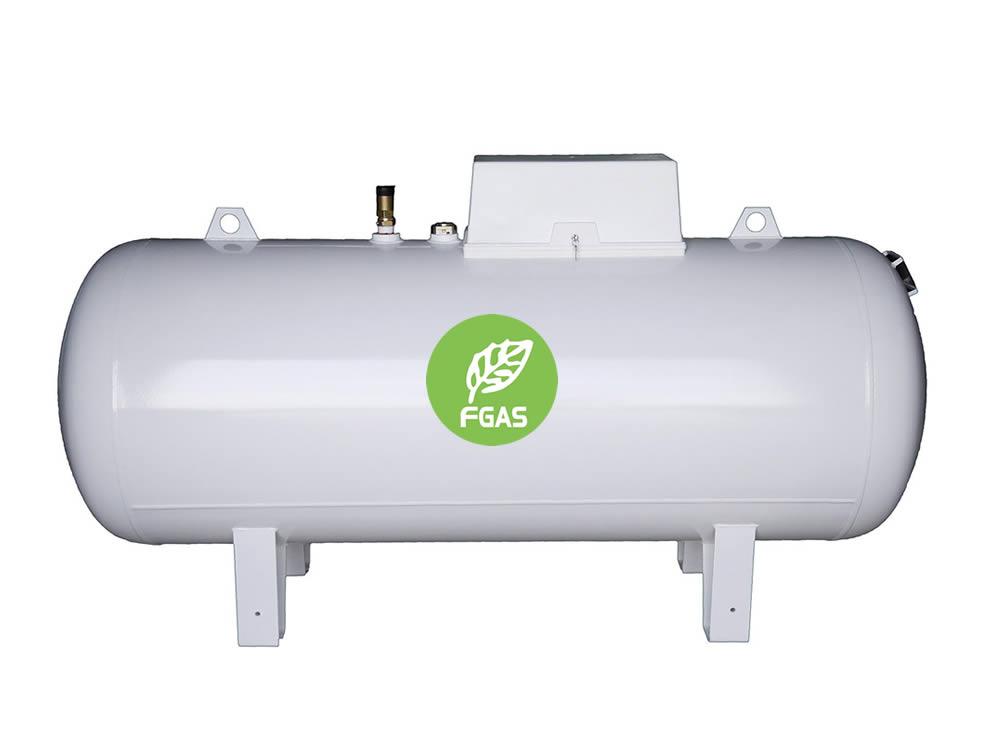 Υπέργεια δεξαμενή υγραερίου 1000L
